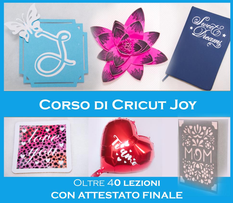 CORSO CRICUT JOY