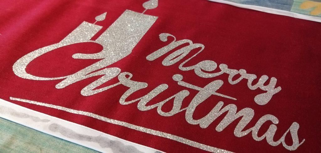 Runner fai da te per Natale