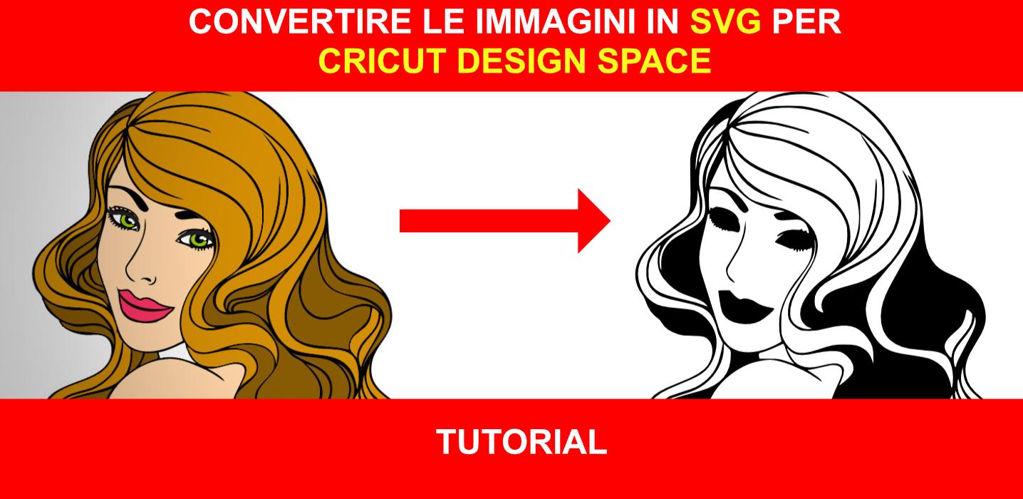 Convertire le immagini con Cricut Design Space