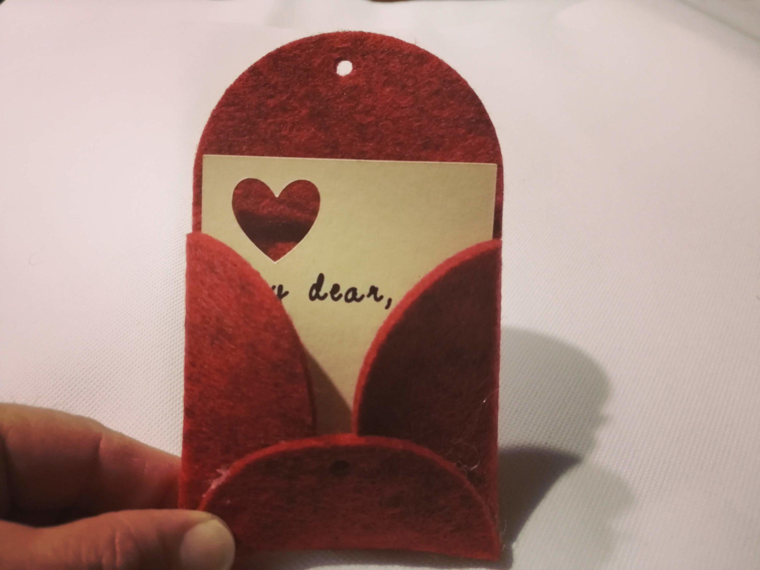 Lettera speciale per San Valentino