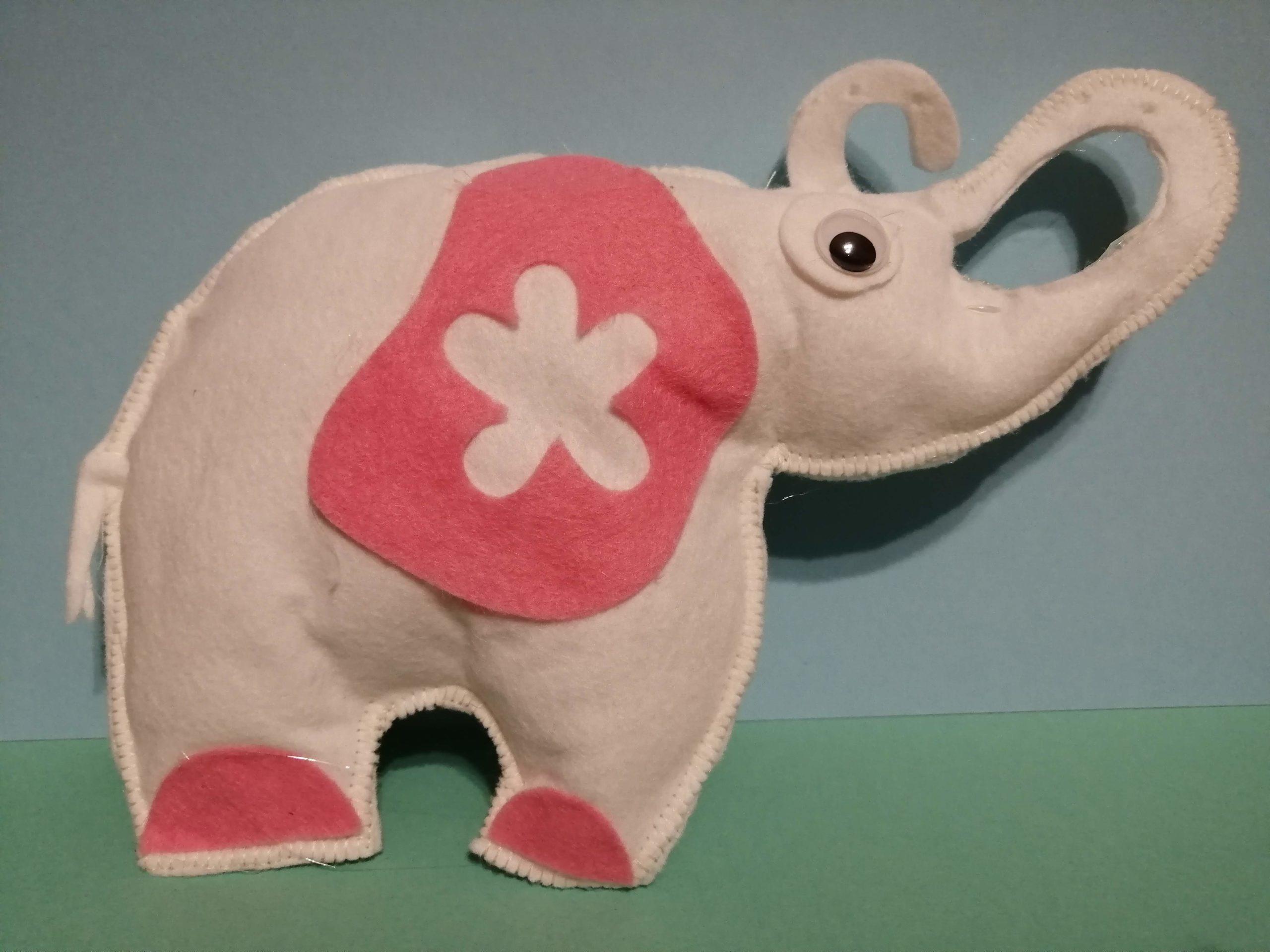 Elefante in feltro Cricut Maker