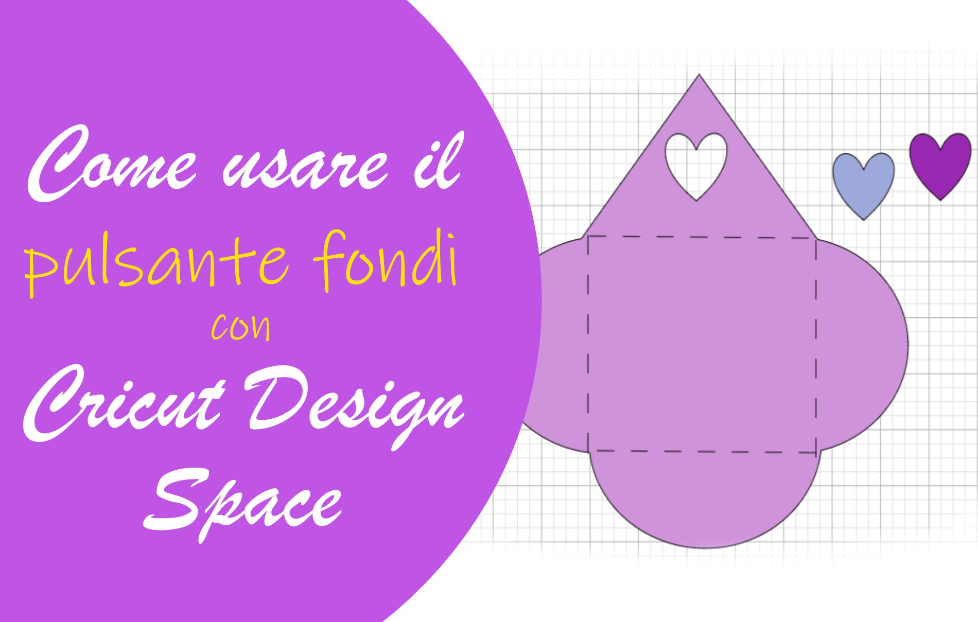 Cricut Design Space pulsante fondi