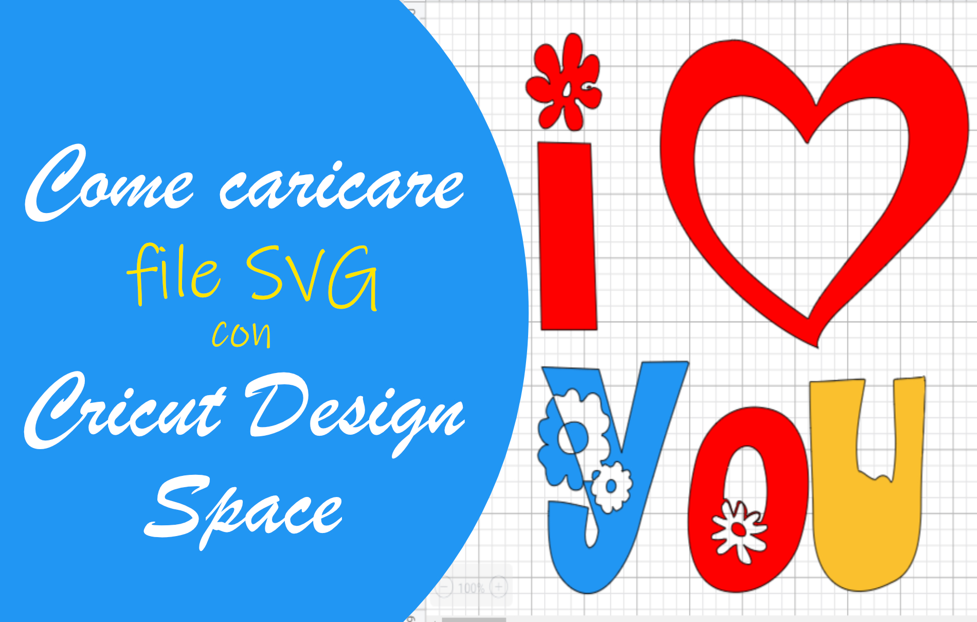 Caricare file SVG Cricut Design Space