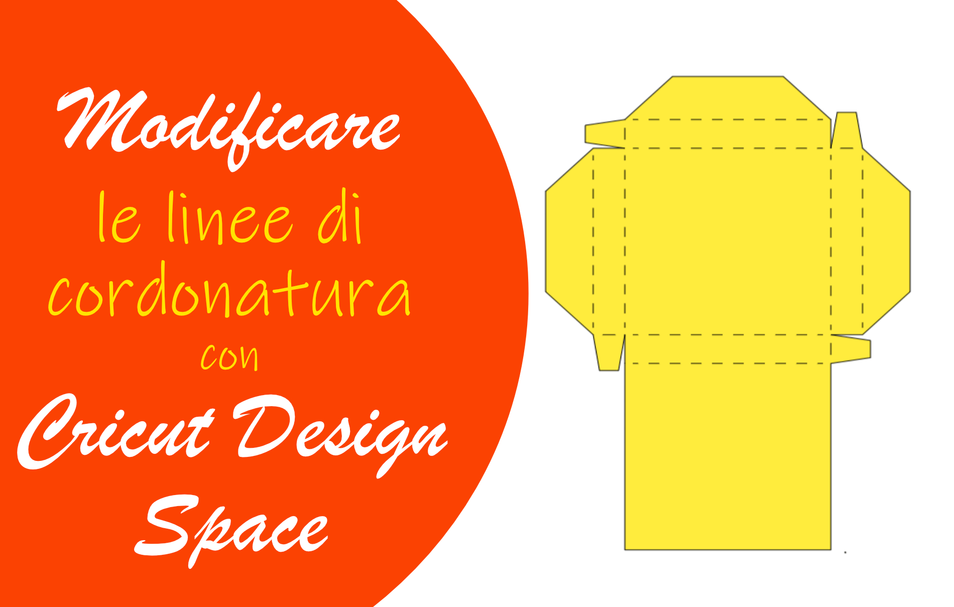 Linee di cordonatura Cricut Design Space