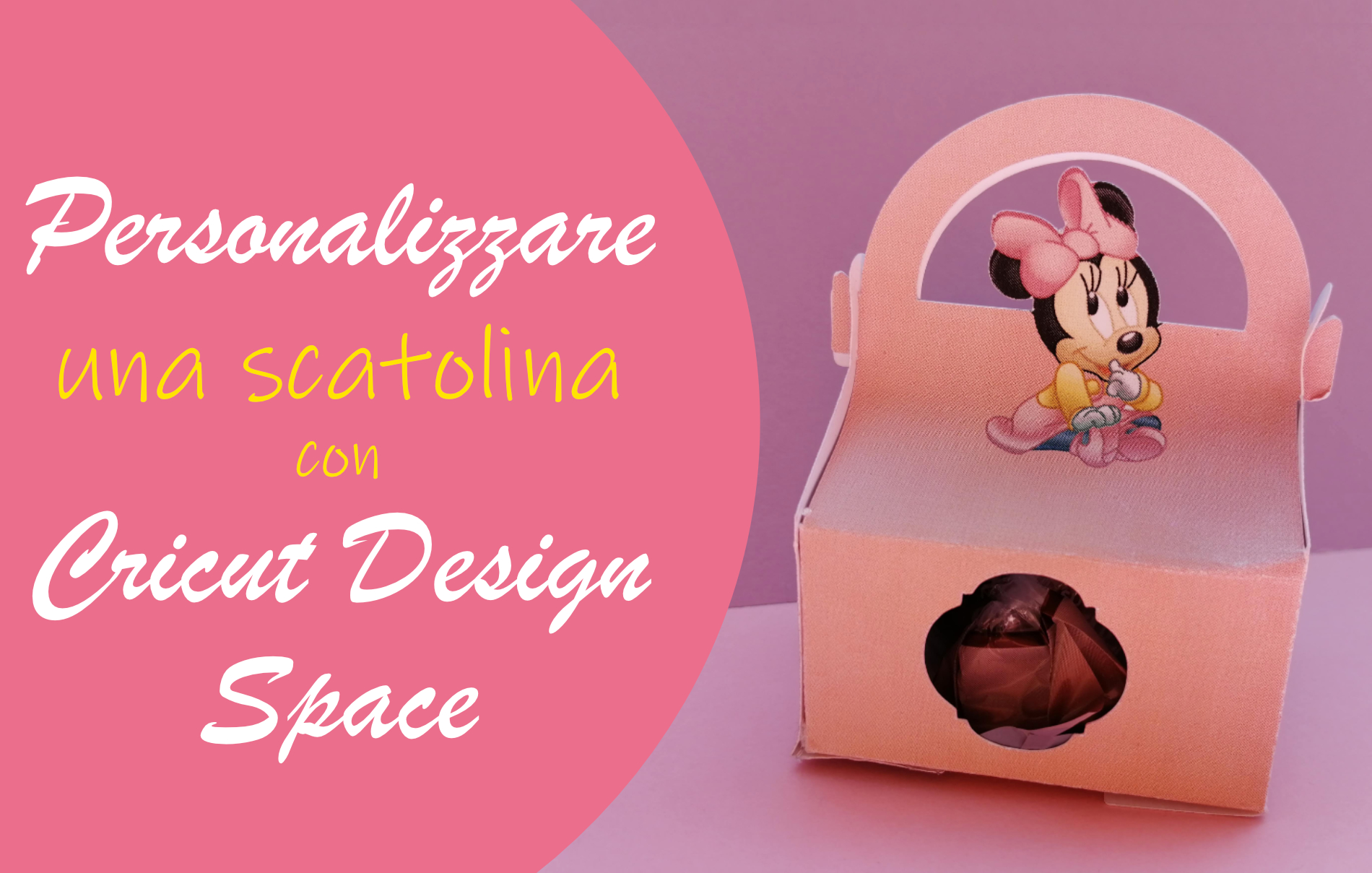 Personalizzare una scatolina con Cricut Design Space