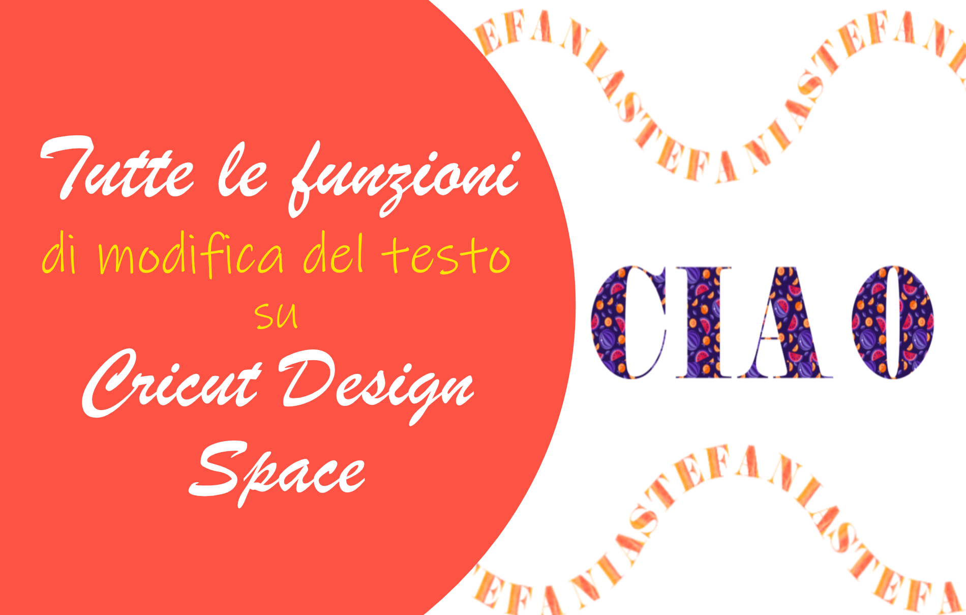 Testo Cricut Design Space