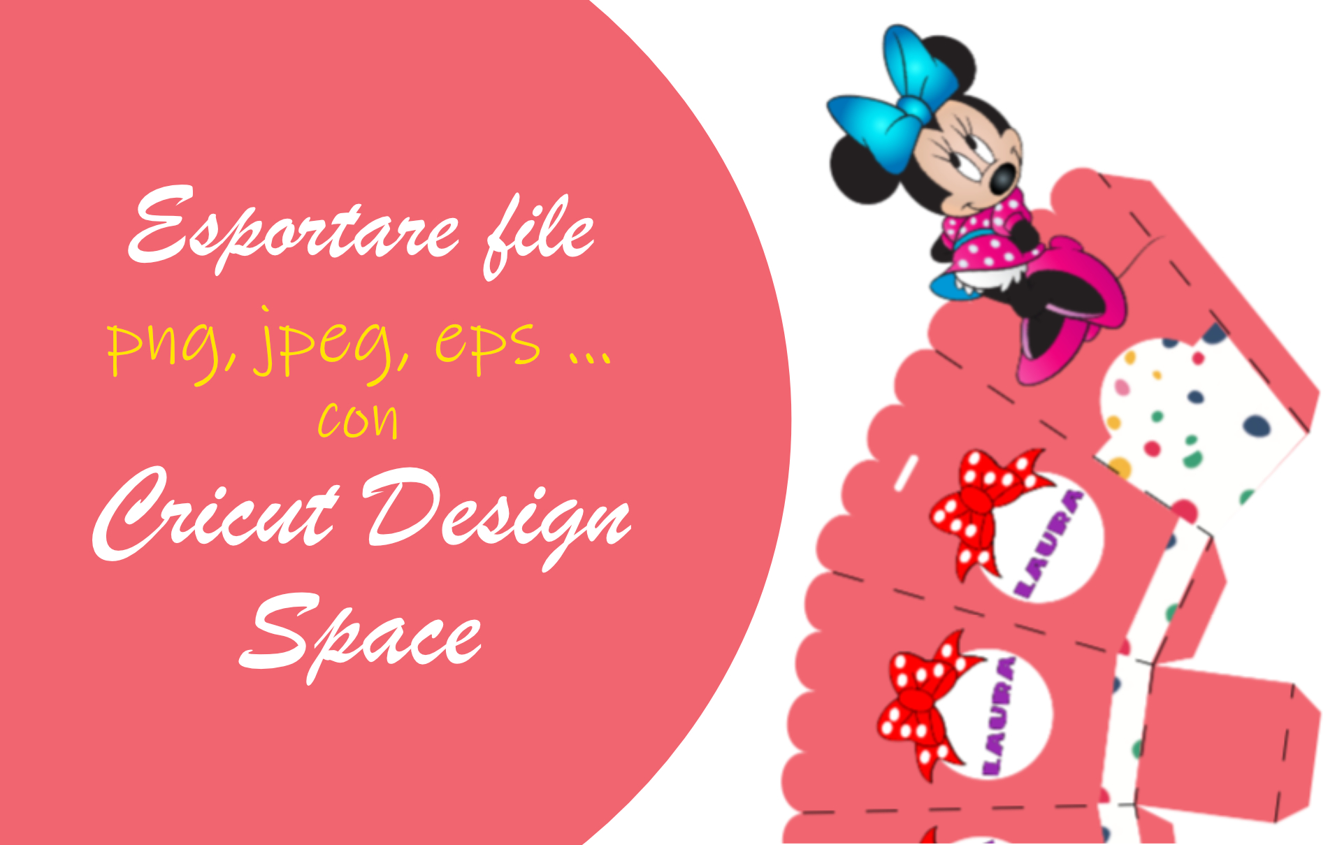 Esportare file con Cricut Design Space