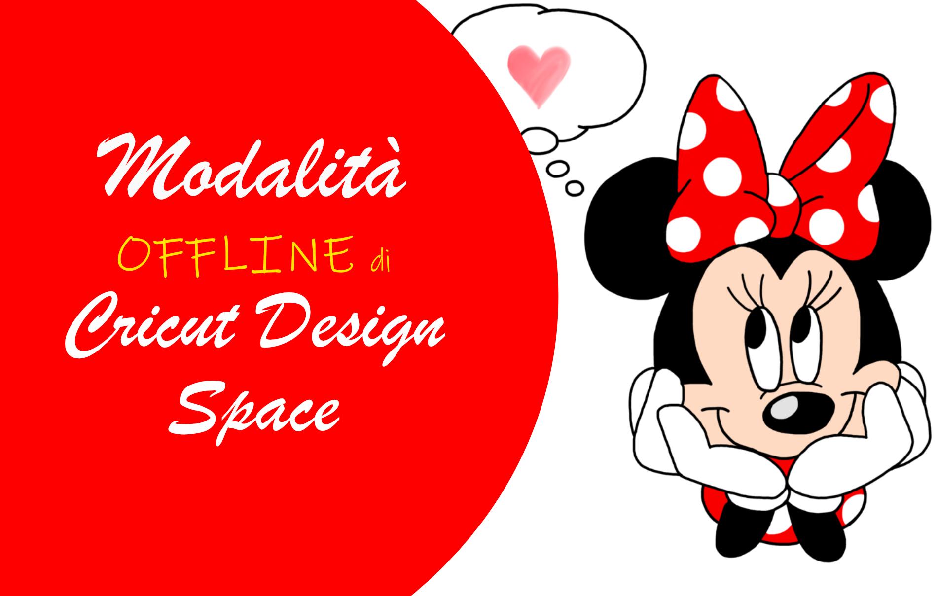 Modalità offline Cricut Design Space