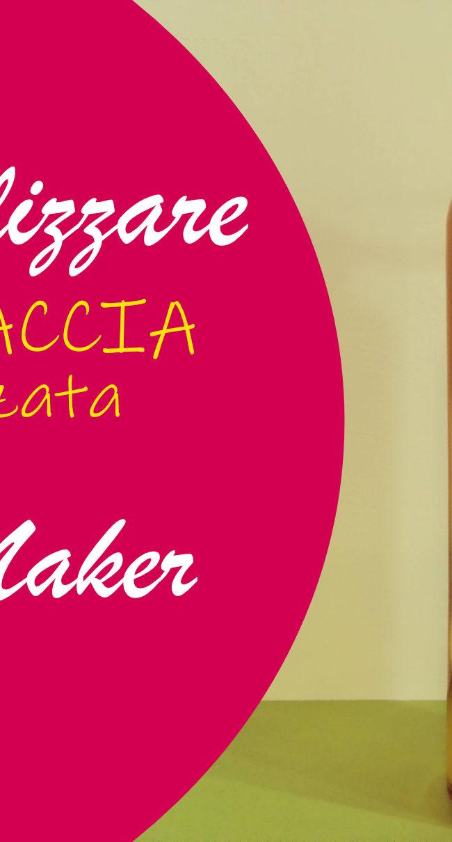 Borraccia personalizzata con Cricut Maker