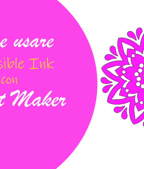Come usare Cricut Infusible Ink