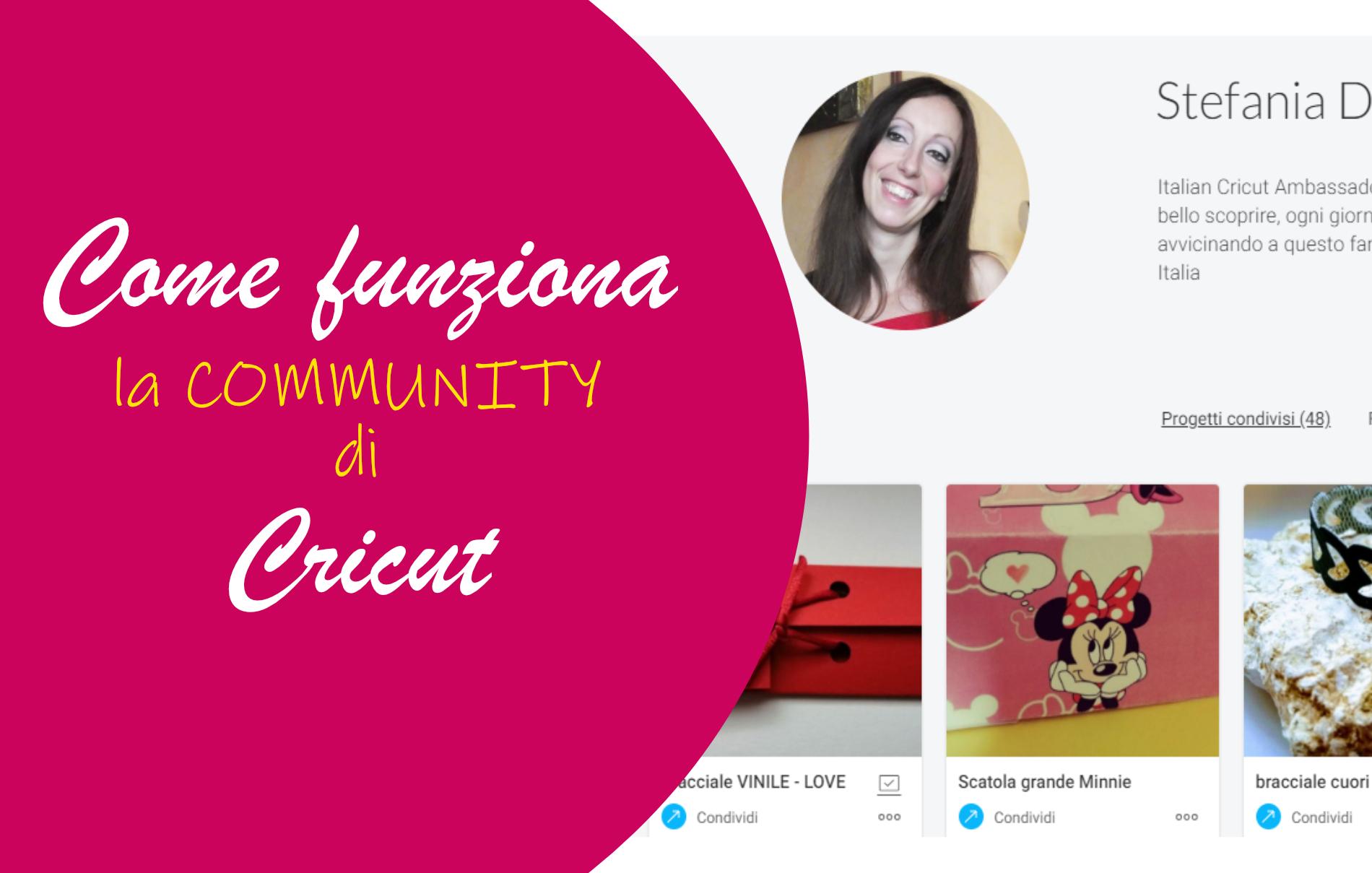 Cricut Community progetti gratuiti