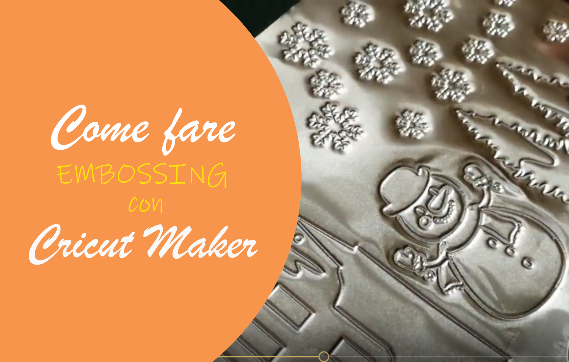 embossing cricut maker