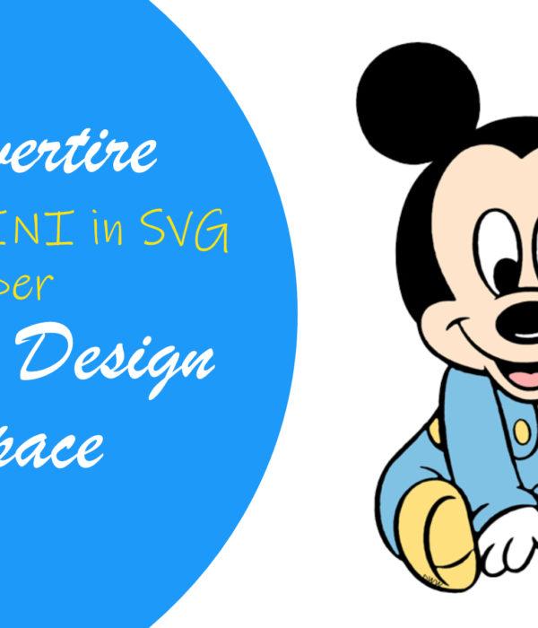 Convertire immagini in SVG