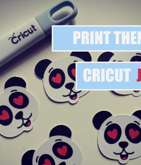 print then cut stampa e taglia Cricut Joy