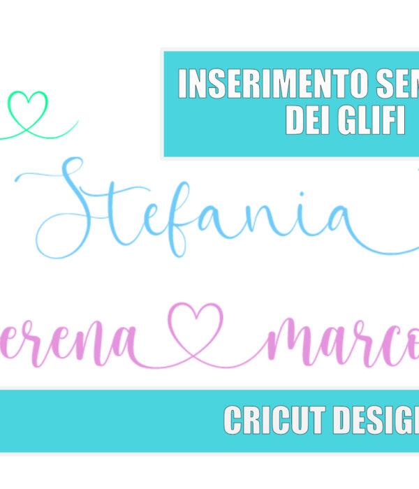 Glifi Cricut Design Space