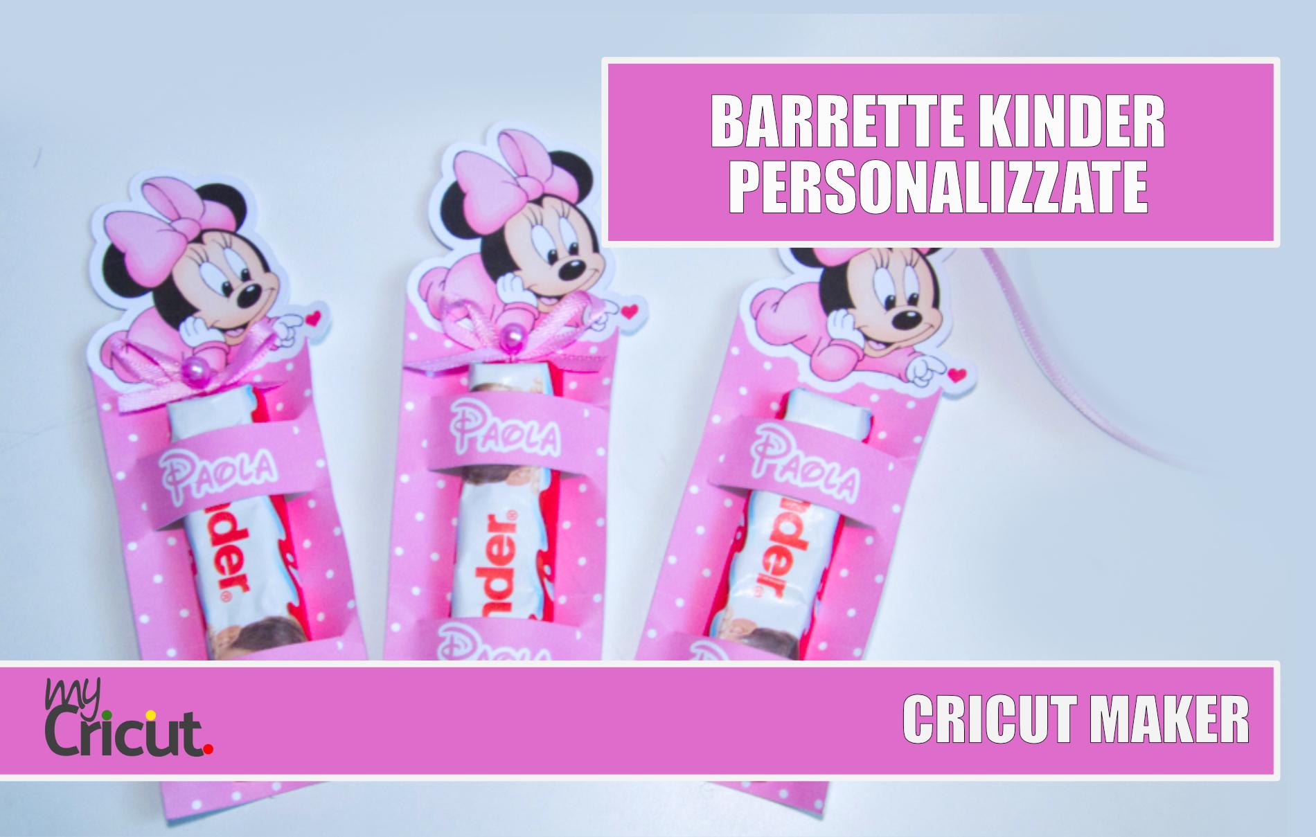barrette kinder personalizzate cricut