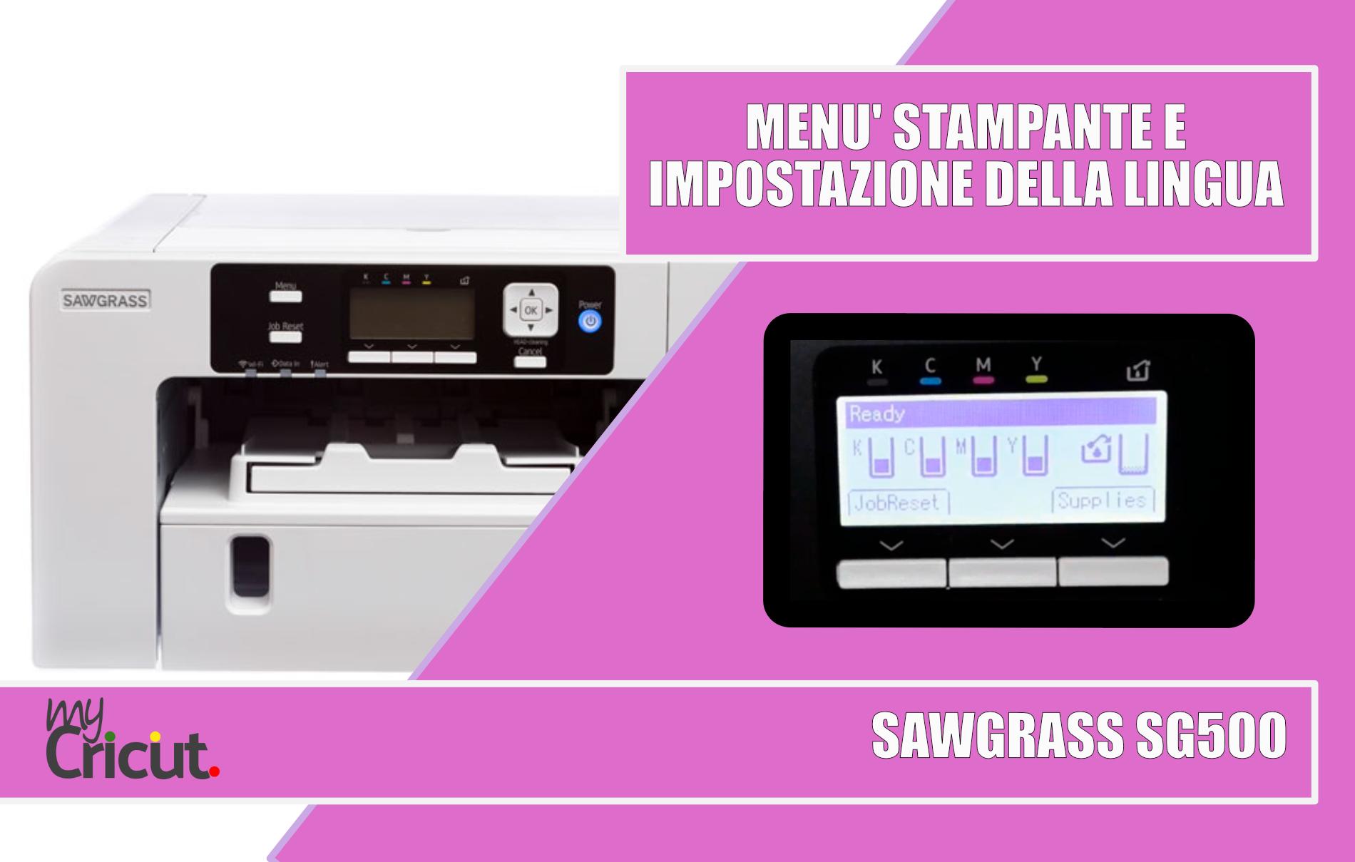 miglior stampante sublimazione sawgrass sg500