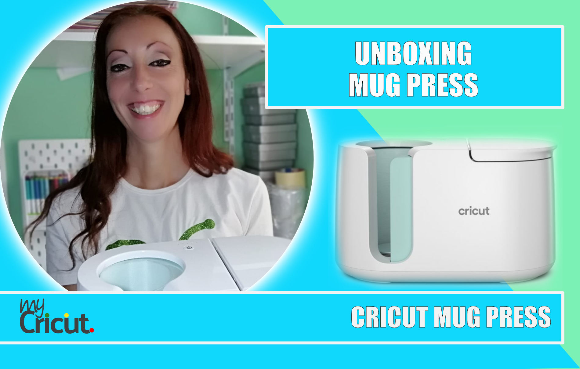 UNBOXING CRICUT MUG PRESS